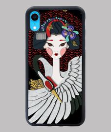 apprendista geisha, airone e farfalla