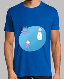 approche de l'hiver:  tee shirt  homme