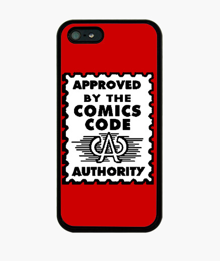 Approved by the comics code iphone cases