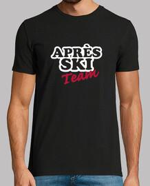 apres ski équipe