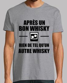 Après un bon whisky