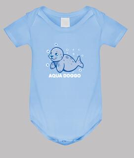 Aqua Doggo - lustig Siegel