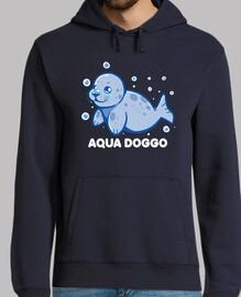 aqua doggo - phoque drôle