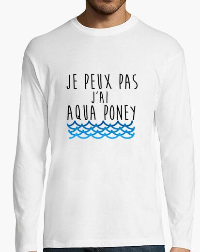 Camiseta aqua pony
