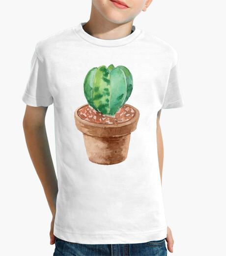 Vêtements enfant aquarelle cactus 3