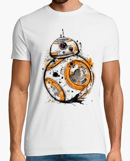 Tee-shirt aquarelle de droïde astromech