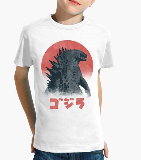 Vêtements enfant aquarelle Kaiju