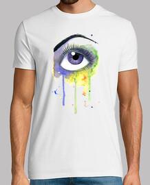 aquarelle yeux