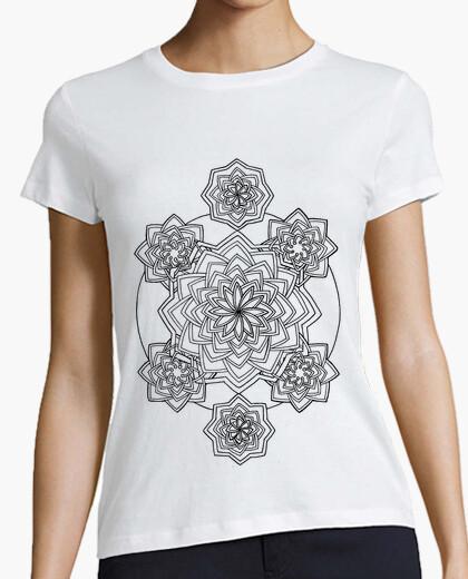 T-shirt arabesco, donna