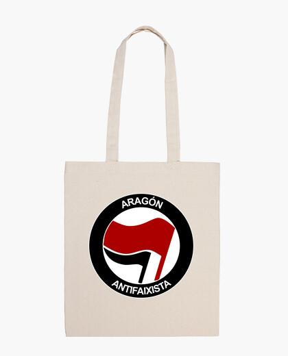 Bolsa Aragón Antifaixista Bolso