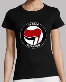 Aragón Antifaixista Manga corta chica