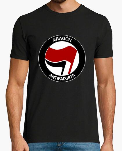 Camiseta Aragón Antifaixista Manga corta chico