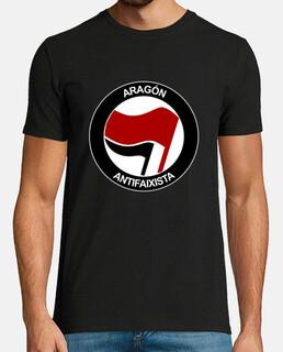 aragon antifaixista manica corta uomo