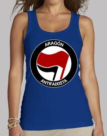 Aragón Antifaixista Tirantes chica