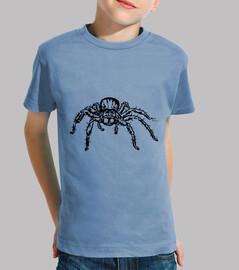 araignée-loup - garçon