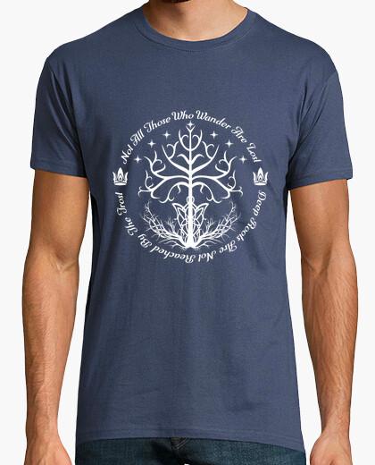 Camiseta árbol blanco de la esperanza