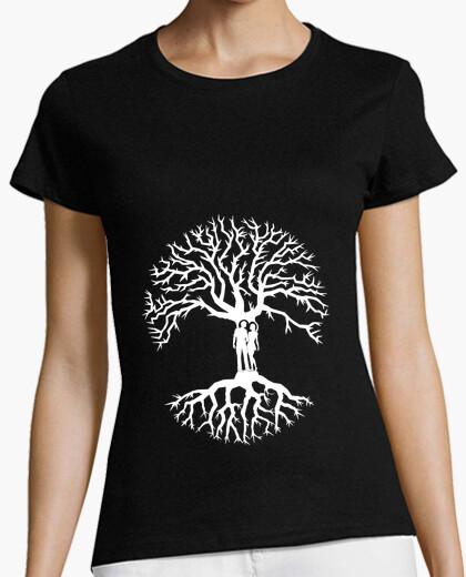árbol de la vida camiseta mujer árbol de la vida amor zen
