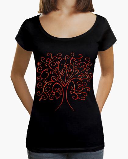Camiseta árbol de la vida de colores