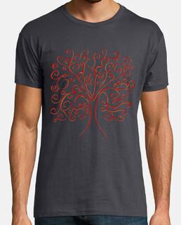 árbol de la vida del hombre colorido