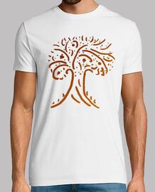 Árbol de la vida naranja