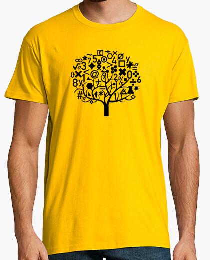 Camiseta Árbol de las Matemáticas