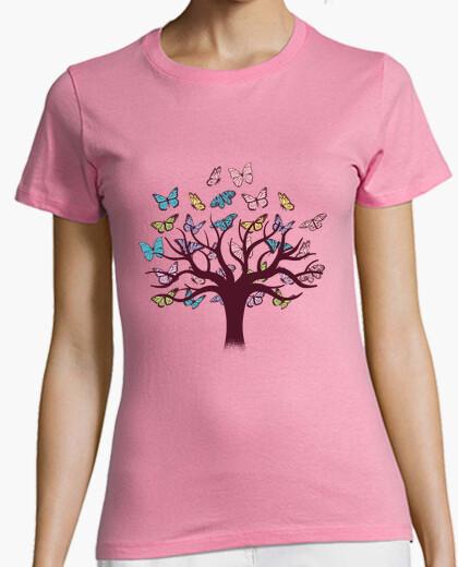 Camiseta Árbol de Mariposas