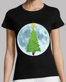 Árbol de Navidad Luna Llena