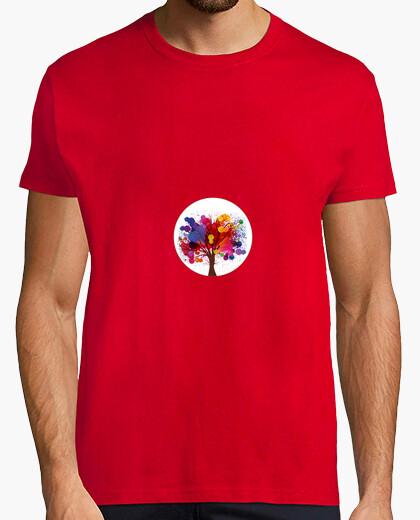 Camiseta Árbol del color