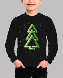 Árbol Navidad - Abeto - Efecto óptico