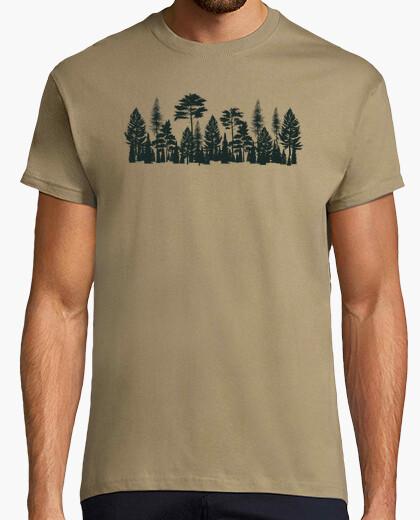 Camiseta Arboles