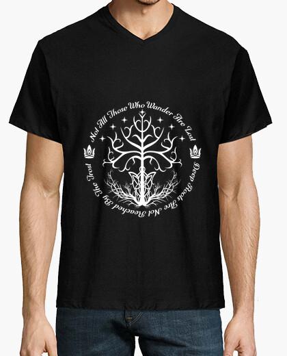 Tee-shirt arbre blanc d'espoir