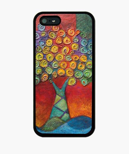Coque iPhone arbre couvrir le life4