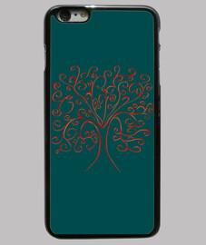 arbre de couverture verte la vie iphone 6 plus