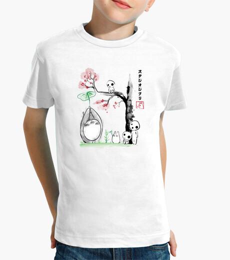 Vêtements enfant Arbre de croissance Sumi-e