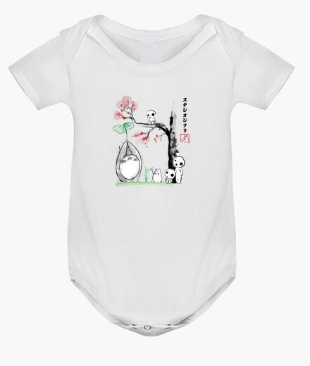 Vêtements enfant arbres à croissance sumi-e