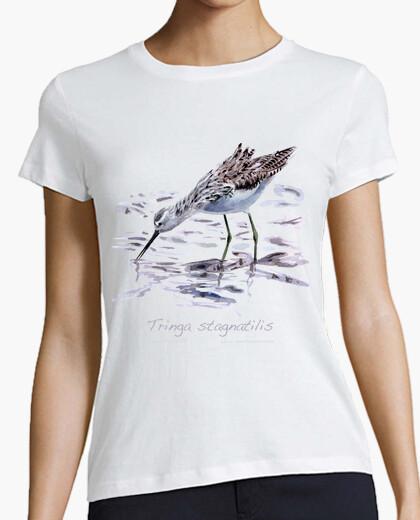 Camiseta Archibebe fino blanca chica