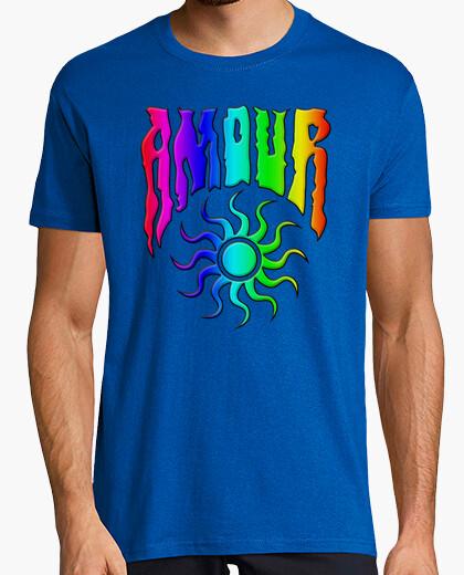 Camiseta Arco iris amour