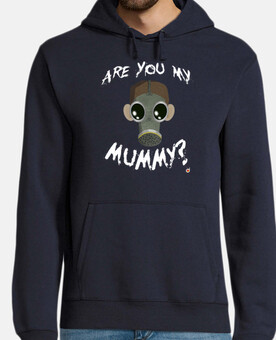 are you la mia mamma? (hoodies uomo e una ragazza)