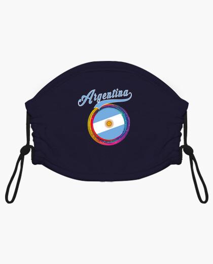 Mascarilla niño argentina deportes holi...