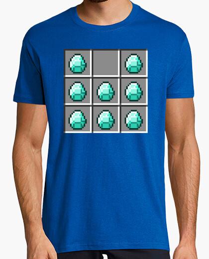 Camiseta Armadura de diamantes - Minecraft