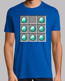 Armadura de diamantes - Minecraft