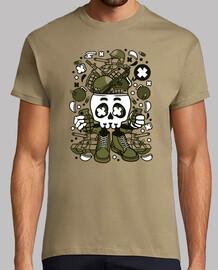 armée skull head