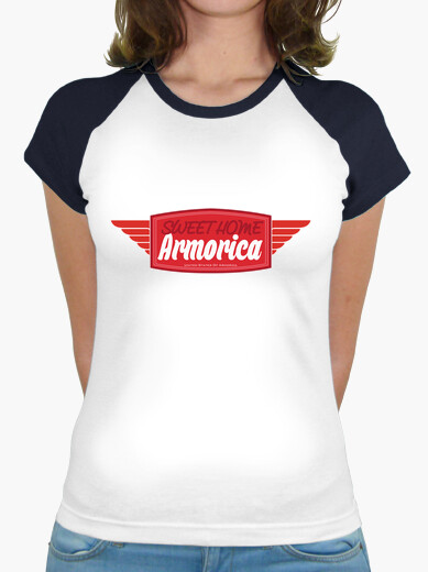 Armorica sweet home - baseball shirt woman t-shirt