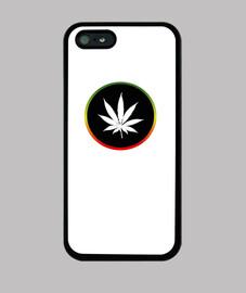 Aro rasta con marihuana