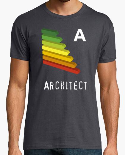 Camiseta Arquitecto eficiencia energética