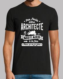 arquitecto y motorista