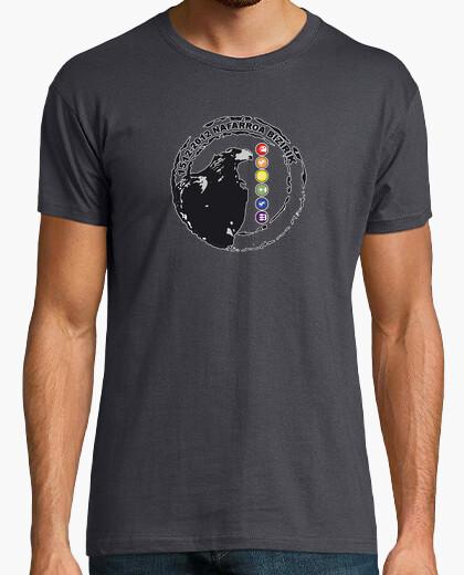 T-shirt arrano beltza