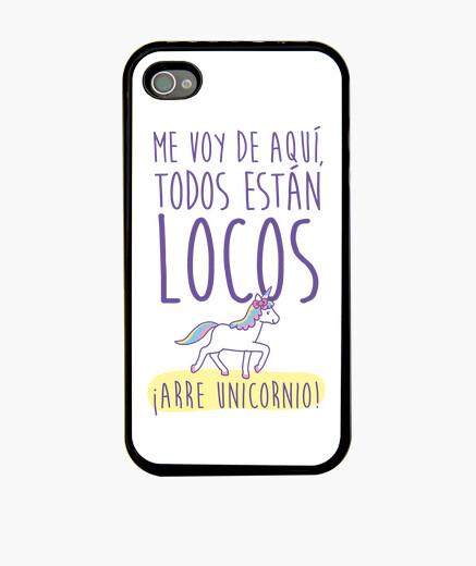 Funda iPhone Arre Unicornio