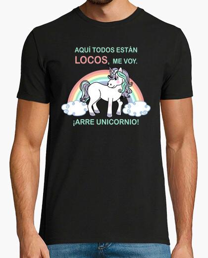 Camiseta ¡Arre unicornio!