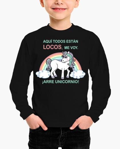 Ropa infantil ¡Arre unicornio!